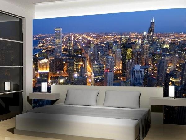 snygg tapet new york city sovrum fototapet fondvägg