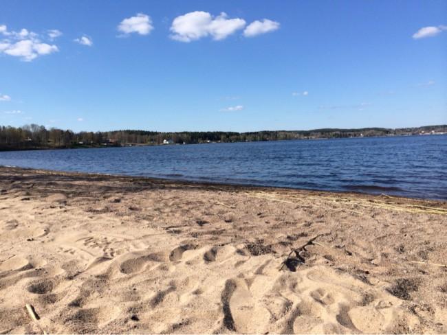 Stora Degernäs strand Degernäs Beach Degerfors