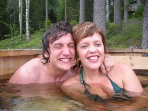 lillebror och jag sommaren 2007