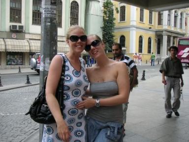 Jag & syster i Turkiet