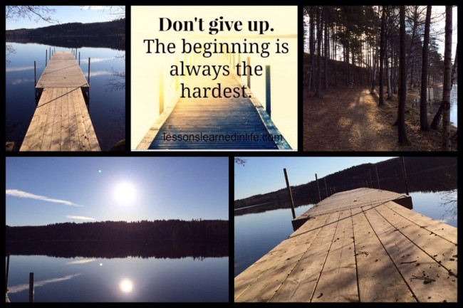 Don't give up! Rökfridag 6
