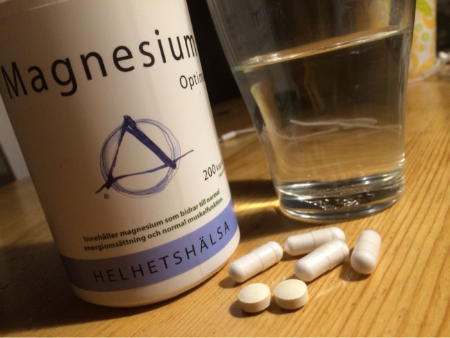 Magnesium mot Cervikal Spinal Stenos Myelopati Spondylos