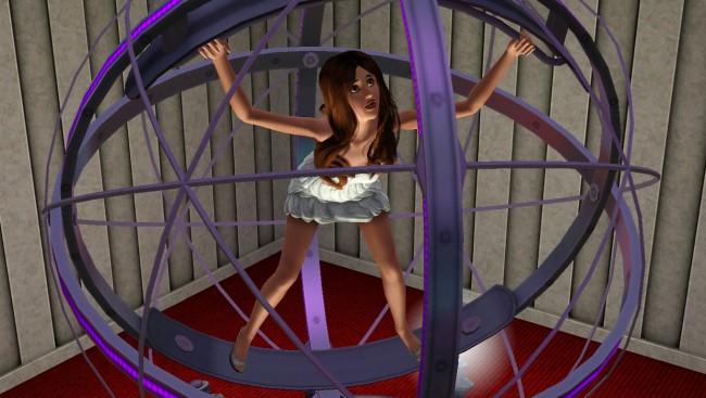 Sims 3 rampljus