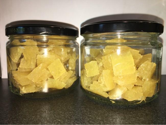 Mjuka Halstabletter av ingefära, citron och honung