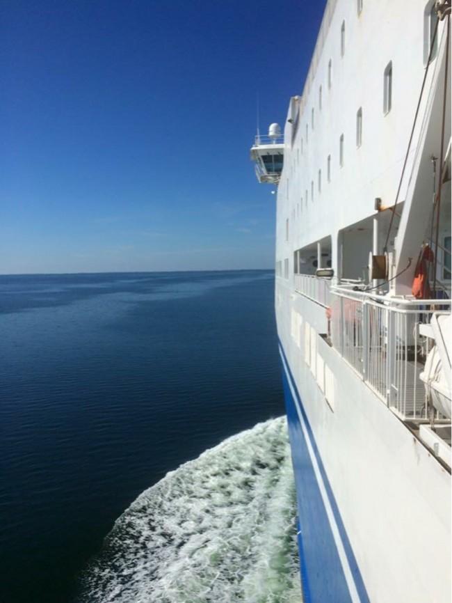Underbar båtresa mellan Finland och Sverige